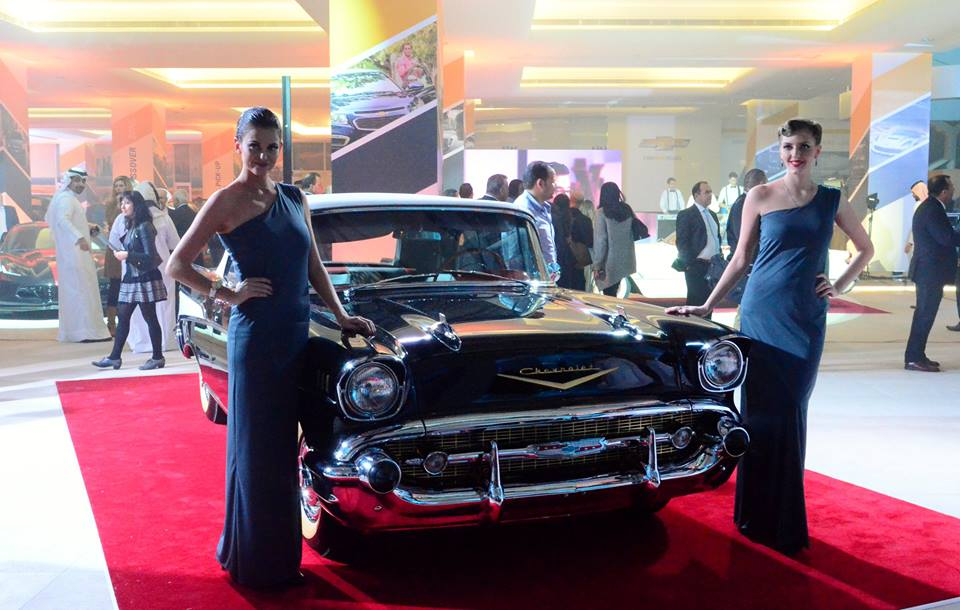 The opening of Chevrolet showroom in the Middle East