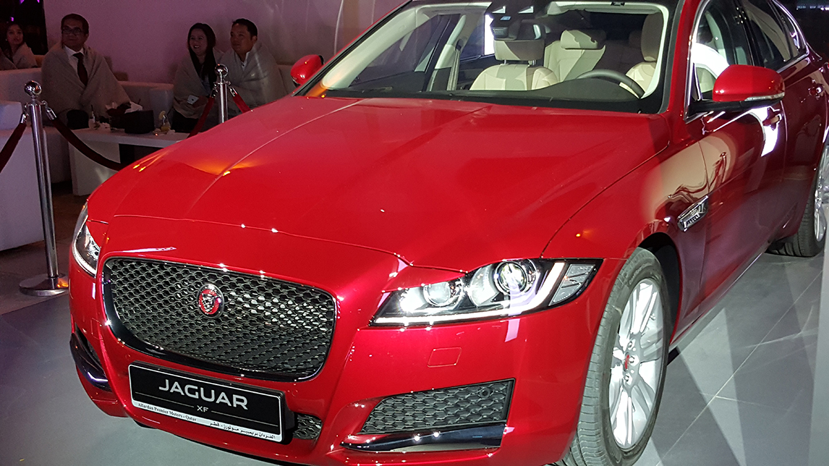 Launch of the new Jaguar XF