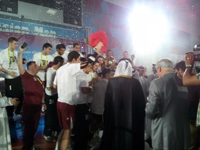 Closing ceremony of the 13th asian men juniors handball championship